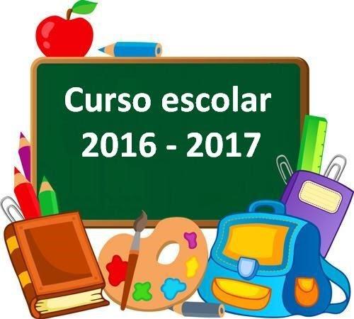 Resultado de imagen de curso 2016-17