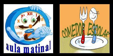 COMIENZO AULA MATINAL Y COMEDOR  2018/2019