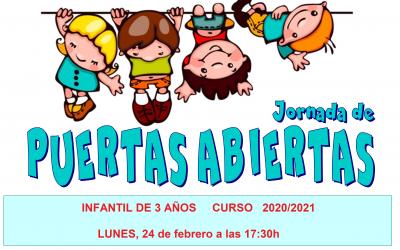 JORNADA DE PUERTAS ABIERTAS EN EL COLEGIO