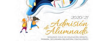 Consulta admisión alumnado curso 2020/2021