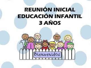 Reunión de padres/madres de Infantil de 3 años